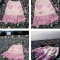 Купить юбка Розовое бохо, Смешанная техника, Юбки, Одежда ручной работы. Мастер Юлия  (made-by-jr) .