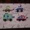 Купить Развивающий набор Машинки, Развивающие игрушки, Куклы и игрушки ручной работы. Мастер Эльмира  (Elmira) . развивающая игрушка