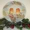 Купить Декоративная тарелка Встреча в зимнем лесу, Новогодний интерьер, Новый год, Подарки к праздникам ручной работы. Мастер Оксана Минеева (oksana) . настенная тарелка