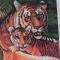 Купить композиция Тигрица и тигренок, Животные, Картины и панно ручной работы. Мастер Татьяна Клемина (strawberrii) .