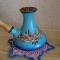 Купить Турка керамика синяя 270 мл, Чайники, кофейники, Посуда ручной работы. Мастер Анжела Кулиш (zhyvajavoda) . турки