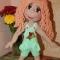 Купить Куколка Настенька, Вязаные, Человечки, Куклы и игрушки ручной работы. Мастер Оленька Богачева (Olenka1405) . авторская игрушка