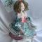Купить Оливия, Текстильные, Коллекционные куклы, Куклы и игрушки ручной работы. Мастер Ирина Бадюкова (Irinabdk) . интерьерная кукла