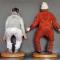 Купить Портретные куклы Кин-дза-дза, Смешанная техника, Портретные куклы, Куклы и игрушки ручной работы. Мастер Елена Коноплина (Dizart) . портретные куклы