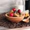 Купить тарелка с ложкой из сибирского кедра, Тарелки, Посуда ручной работы. Мастер  korobka4udes (korobka4udes) .