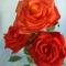 Купить Букет из роз, Полимерная глина, Цветы, Цветы и флористика ручной работы. Мастер Эмилия Мемили (Memili) .