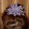Купить Заколка для волос из бисера Нежно-сиреневый цветок, Плетение, Бисер, Заколки, Украшения ручной работы. Мастер Яна Новикова (Ya-na) . нежно-сиреневый