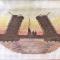 Купить Вышивка Разводные мосты, Пейзаж, Картины и панно ручной работы. Мастер Анастастасия Пивоварова (Nastya) . канва аида-14
