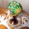 Купить Пасхальное яйцо вышитое бисером Деревянная церковь, Яйца, Сувениры и подарки ручной работы. Мастер Валентина Большакова (valenkreatif) . пасхальное яйцо
