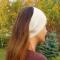 Купить повязка на голову белая, Повязки, Головные уборы, Аксессуары ручной работы. Мастер Майя Ромашева (laune) . шапка вязаная