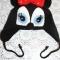 Купить Шапочка для девочки Мини-Маус, Шапочки, шарфики, Одежда для девочек, Работы для детей ручной работы. Мастер Наталья Крутий (nkrutiy) . детская шапка
