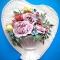 Купить Панно Сердцес пионами, Картины цветов, Картины и панно ручной работы. Мастер Елена Чупахина (CHELENA) . подарок на все случаи