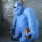 Купить Монстр из шкафа, Мультяшные, Сказочные персонажи, Куклы и игрушки ручной работы. Мастер   (KotoFeya) . валяная игрушка