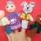 Купить Вязаный пальчиковый театр, Кукольный театр, Куклы и игрушки ручной работы. Мастер Елена Пичугина (Lencho) . вязаный театр