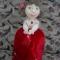 Купить Кукла пакетница Настенька, Текстильные, Коллекционные куклы, Куклы и игрушки ручной работы. Мастер Ольга Красницкая (krasoliadoll) . функциональный подарок