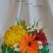 Купить Корзина цветов, Смешанная техника, Интерьерные композиции, Цветы и флористика ручной работы. Мастер Мария Коровина (MariKa) . купить подарок жене