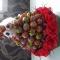 Купить Матрёшка из чупа-чупсов маленькая, Букеты из конфет, Букеты, Цветы и флористика ручной работы. Мастер Светлана Хрущёва (SvetaKN78) . вкусный подарок