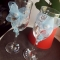 Купить Воздушное счастье, Свадебные бокалы, Свадебные аксессуары, Свадебный салон ручной работы. Мастер Евгения  (Akvamarelka) .