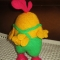 Купить Петух с кедами, Птицы, Зверята, Куклы и игрушки ручной работы. Мастер Елизавета Базовкина (Amitoys) .