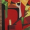 Купить Лоскутное панно Лисицы, Животные, Картины и панно ручной работы. Мастер Галина Сопина (GalinaSopina) . картины и панно