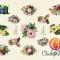 Купить Декупажная карта Цветочный бриз формат А4, Промышленные, Декупажные салфетки, Декупаж и роспись ручной работы. Мастер   (cheap-art) . декупажная карта