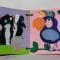 Купить Развивающая книга из фетра экзотика для малышей, Развивающие игрушки, Куклы и игрушки ручной работы. Мастер Екатерина Попова (Ekat1983112) .