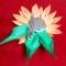 Купить Цветок заколка-брошь из атласной ленты, Украшения ручной работы. Мастер Татьяна  (Hosta) . цветы из лент