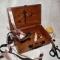Купить Шкатулка-чемодан для швейных принадлежностей Манекены, Декупаж, Шкатулки, Для дома и интерьера ручной работы. Мастер Ольга  (g8442) . горох