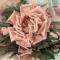 Купить Брошь-заколка роза Пудра Цветы из ткани, Текстильные, Броши, Украшения ручной работы. Мастер Лариса Шушпанова (LShushpanova) . браслет с цветами
