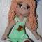 Купить Куколка Настенька, Вязаные, Человечки, Куклы и игрушки ручной работы. Мастер Оленька Богачева (Olenka1405) . вязаная игрушка