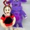 Купить Мила из Лунтика, Смешанная техника, Миниатюра, Куклы и игрушки ручной работы. Мастер Екатерина Шинкаренко (episton2) . лунтик