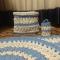 Купить Трикотажный вязаный ковер, Ковры, Текстиль, ковры, Для дома и интерьера ручной работы. Мастер Татьяна Тюль (Kikongwe) . банный набор