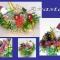 Купить подарочные корзины на новый год, Цветы и флористика ручной работы. Мастер Настя  (anastas) .