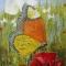Купить Бабочки на маковом поле, Абстракция, Картины и панно ручной работы. Мастер  Арутюнян (harben) . абстракция