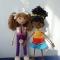 Купить Куколка-девочка, Вязаные, Человечки, Куклы и игрушки ручной работы. Мастер Рамзия Решетникова (Ramremik) . авторская игрушка