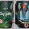 Купить Ваза для сухоцветов Экзотика, Для сухоцветов, Вазы, Для дома и интерьера ручной работы. Мастер Птица Летящая (Ptica) .