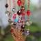 Купить Длинные бусы в стиле Джаз, Декоративное стекло, Колье, бусы, Украшения ручной работы. Мастер Алена  (FDomino) . сотуар