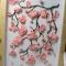Купить панно Сакура (квиллинг), Картины цветов, Картины и панно ручной работы. Мастер Татьяна  (tanushas) . бумага