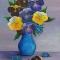 Купить букет Виол, Картины цветов, Картины и панно ручной работы. Мастер Алла Новикова (mammi5) . цветы