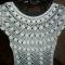 Купить Ажурное платье, Пляжные, Платья, Одежда ручной работы. Мастер   (Olga300476) . вязаное платье