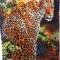 Купить Картина вышитая бисером Леопард, Животные, Картины и панно ручной работы. Мастер Валентина Большакова (valenkreatif) . картина в детскую